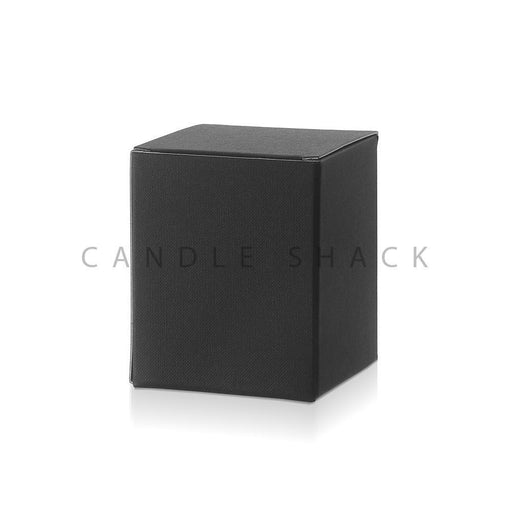 Candle Shack Candle Box Box for 30cl Luxury Jar - Black Buckram