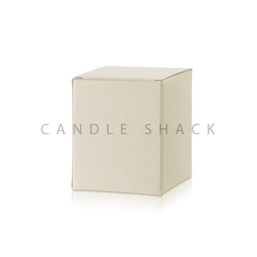 Candle Shack Candle Box Box for 30cl Luxury Jar - Buttermilk Buckram