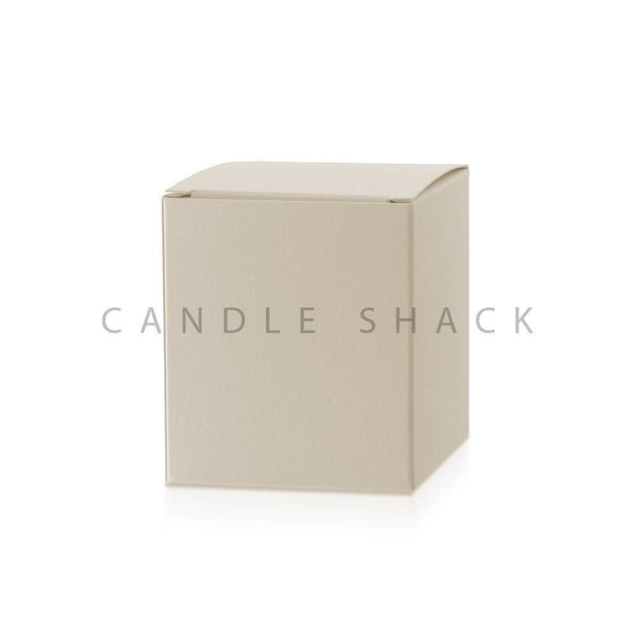 Candle Shack Candle Box Buttermilk Laminated Folding Box for 30cl Karen Jars