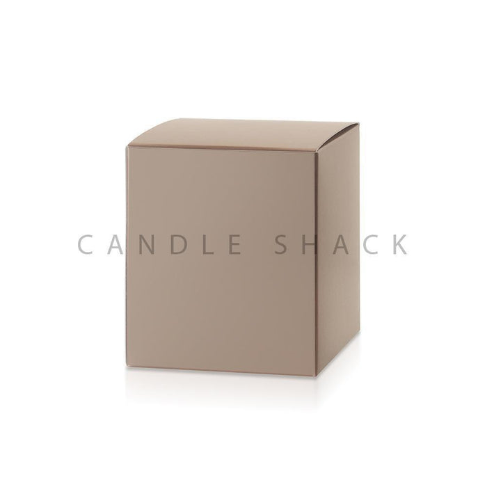 Candle Shack Candle Box Gold Folding Box for 27cl Jars