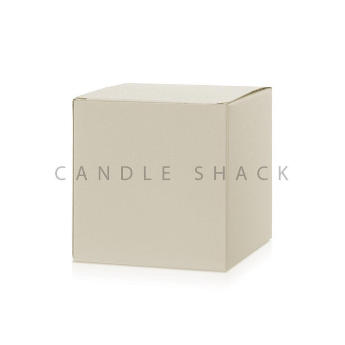 Candle Shack Candle Box Large Candle Box - Buttermilk Buckram
