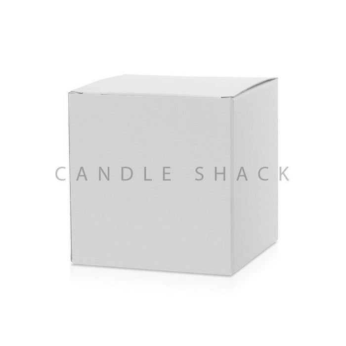 Candle Shack Candle Box Large Candle Box - White Buckram