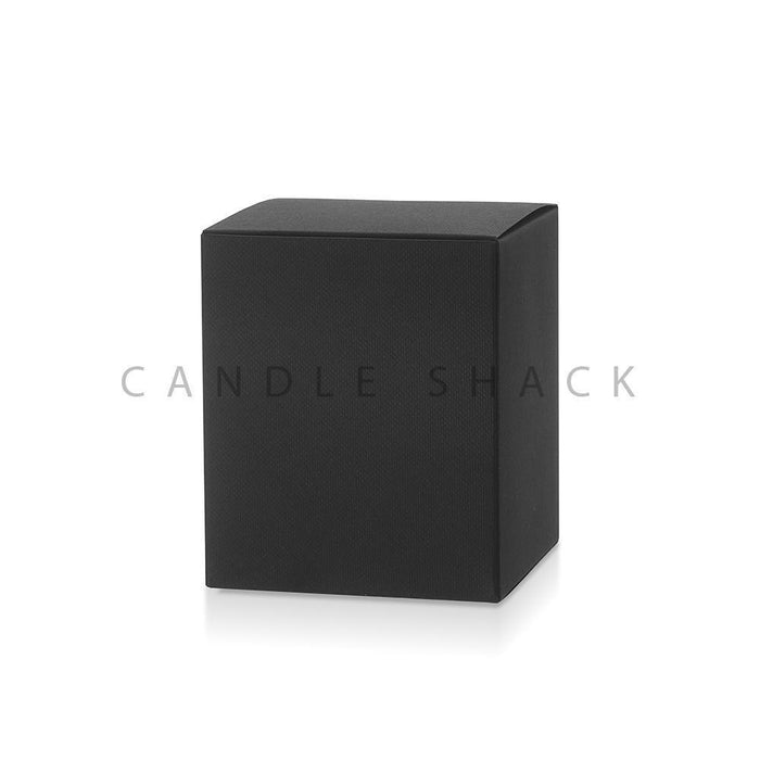 Candle Shack Candle Box Luxury Folding Box & Liner for 30cl Luxury Jar - Black