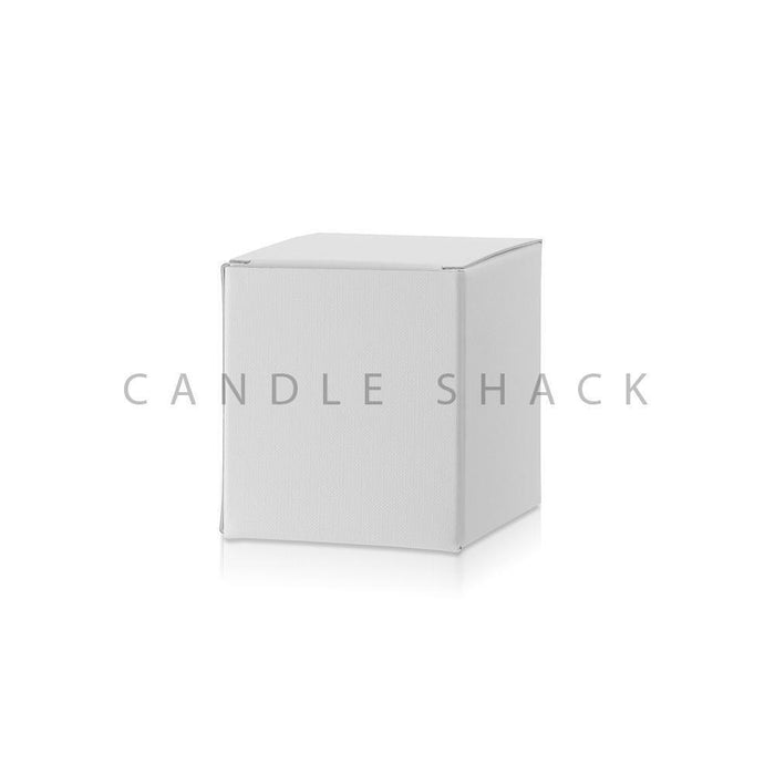 Candle Shack Candle Box White Laminated Folding Box for 20cl Jars