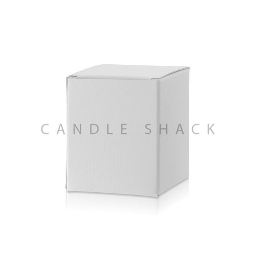Candle Shack Candle Box White Laminated Folding Box for 27cl Jars