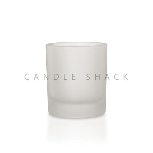 Candle Shack Candle Jar 20cl Glass - Frosted Finish