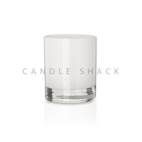 Candle Shack Candle Jar 20cl Glass - Internally White Gloss