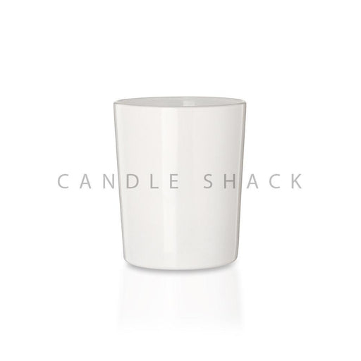 Candle Shack Candle Jar 27cl Glass - Externally White Gloss