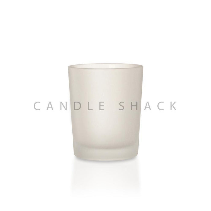 Candle Shack Candle Jar 27cl Glass - Frosted Finish