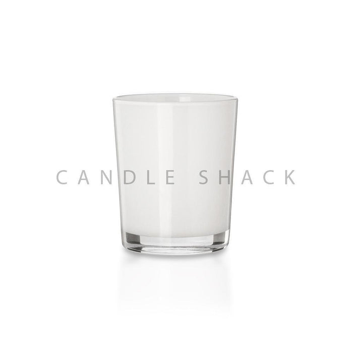 Candle Shack Candle Jar 27cl Glass - Internally White Gloss