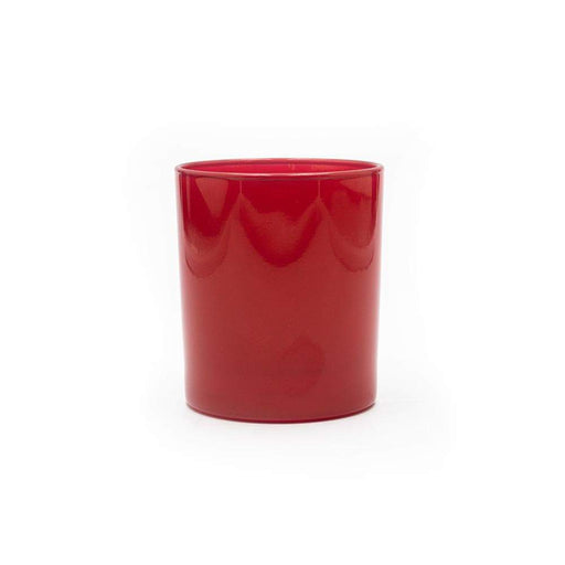 Candle Shack Candle Jar 30cl Karen Glass - Christmas Red