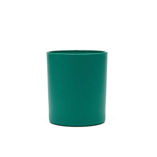 Candle Shack Candle Jar 30cl Karen Glass - Externally Emerald Green Matt