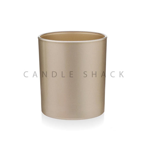Candle Shack Candle Jar 30cl Karen Glass - Externally Gold Matt