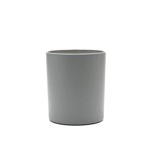 Candle Shack Candle Jar 30cl Karen Glass - Externally Grey Matt