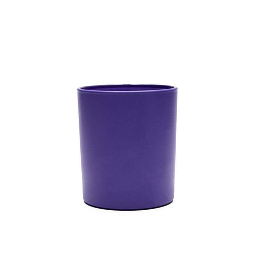 Candle Shack Candle Jar 30cl Karen Glass - Externally Ultra-Violet Purple Matt