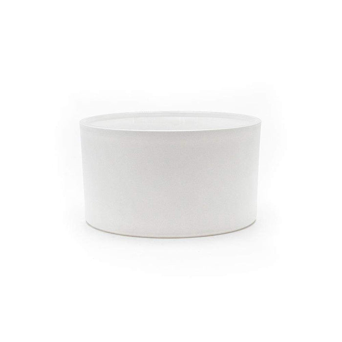 Candle Shack Candle Jar 50cl Bowl - Externally White Matt