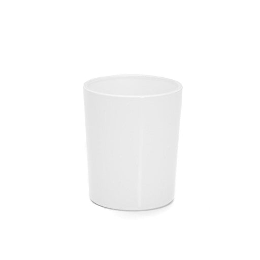 Candle Shack Candle Jar 9cl Lauren Glass NEW - Externally White Gloss