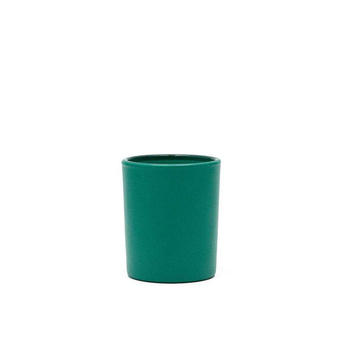 Candle Shack Candle Jar 9cl Votive Glass - Externally Emerald Green Matt
