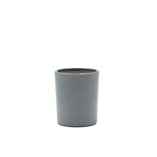 Candle Shack Candle Jar 9cl Votive Glass - Externally Grey Matt