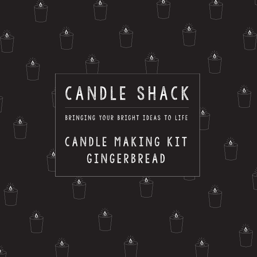 Candle Shack Candle Jar Candle Making Kit - Gingerbread