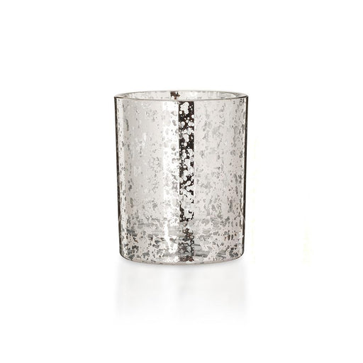 Candle Shack Candle Jar Luxury 30cl Glass - Electroplated Silver