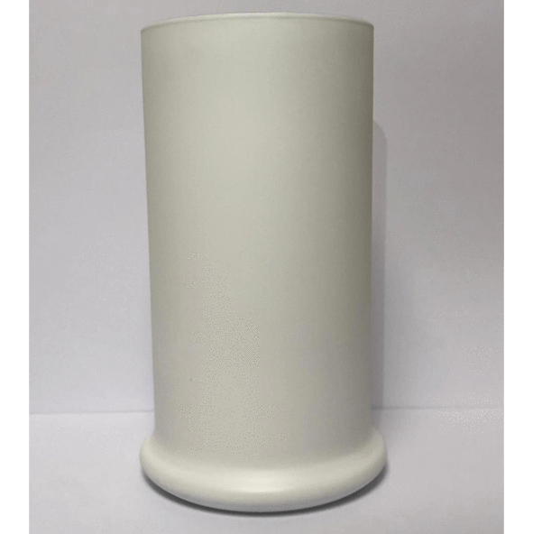 Candle Shack Candle Jar Tall Status Jars - Matt White