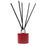 Candle Shack Diffuser Bottle 100ml Squat Circular Diffuser - Christmas Red Gloss