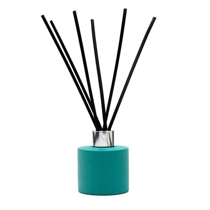 Candle Shack Diffuser Bottle 100ml Squat Circular Diffuser - Matt Turquoise