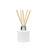 Candle Shack Diffuser Bottle 100ml Squat Circular Diffuser - Matt White