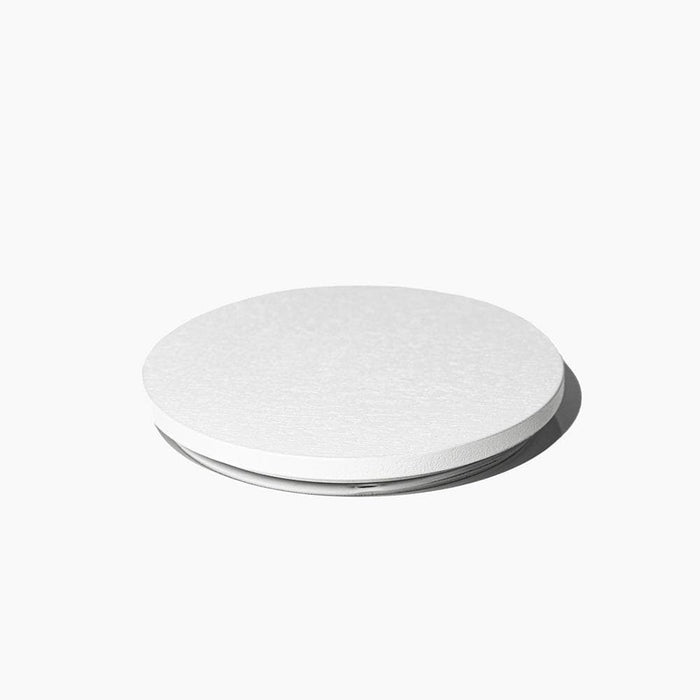 Candle Shack Lid Wooden Lid - White - for 30cl Lucy