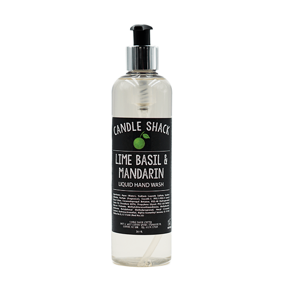 Candle Shack Soap 300ml Hand Soap - Lime Basil & Mandarin