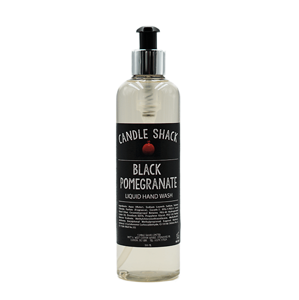 Candle Shack Soap 300ml Hand Wash - Black Pomegranate