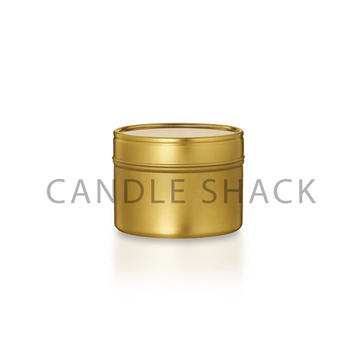 Candle Shack Unbranded Candle Unbranded Candle - 100g Gold Tin