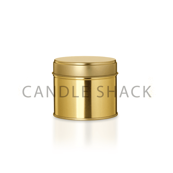 Unbranded Candle - 190g Gold Tin