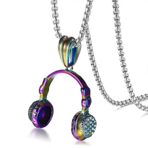 Headphone Necklace - Chroma