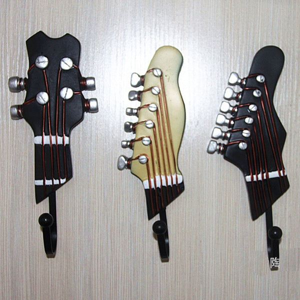 Guitar design Iron Hook (3PC)