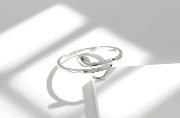 Sterling Silver Music Note Ring