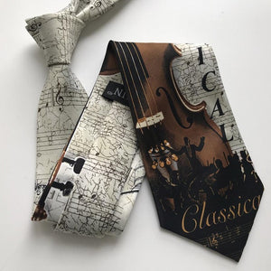 Men's Musical Necktie