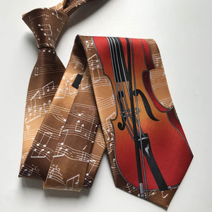 Men's Cello Necktie