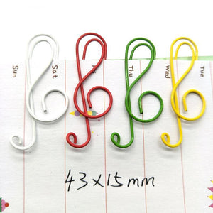 Treble Paper Clip Pack (200 Pc)