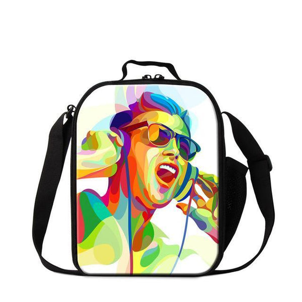 Music Lunch Cooler Bag - Multiple Styles