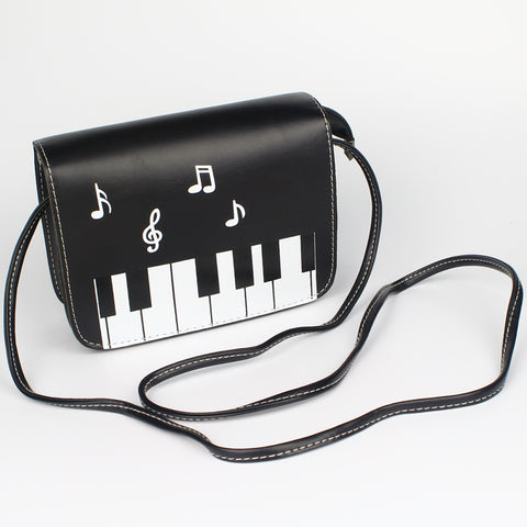 Minimalist Piano Keys Sling Bag