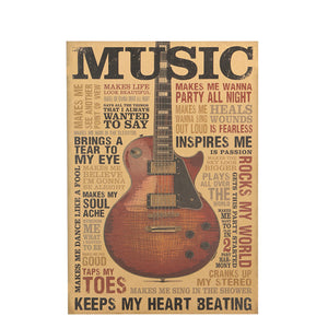 Inspirational Musical Wall Sticker