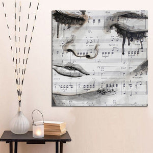 The Sad Musician Wall Art