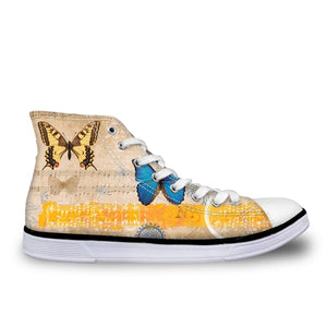 Women's Music Nature Sneakers