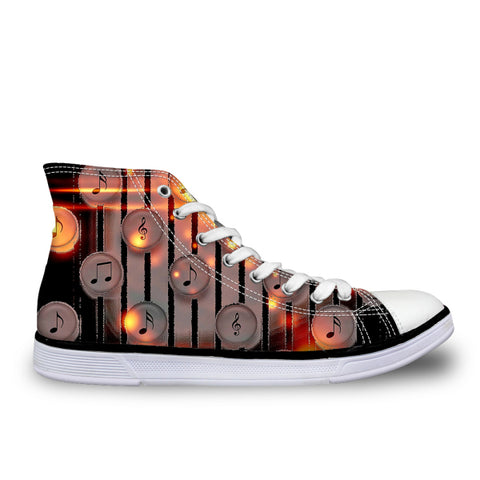 Women's Musical Symbol Shoes