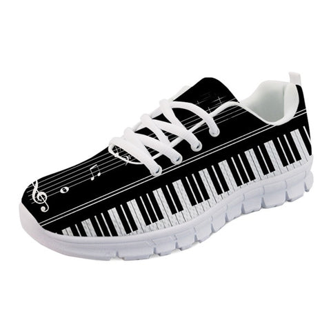 Men's BW Piano Key Sneakers