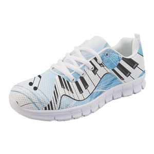Men's Sky Blue Piano Key Sneakers