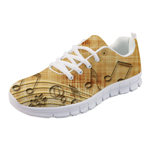Men's Music Note Sneakers