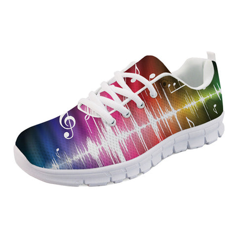 Men's Music Visualizer Sneakers